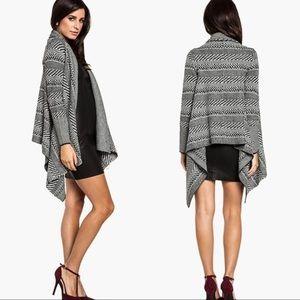 BB Dakota | Asymmetrical Kali Wrap Knit Cardigan
